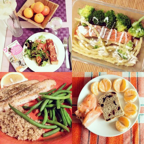 My favourite fish meals. Real yum and health!
