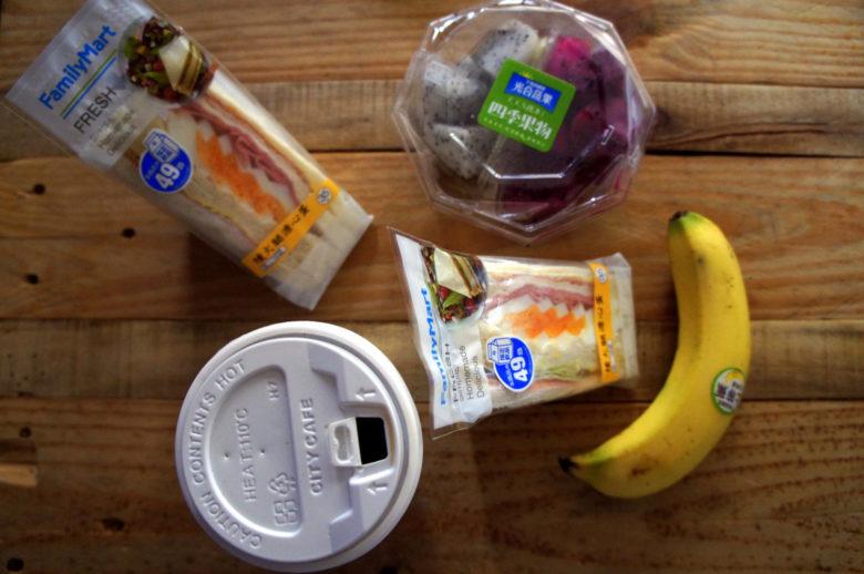 healthy breakfast in Japan