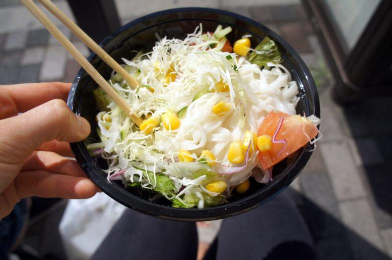takeaway veggie salad