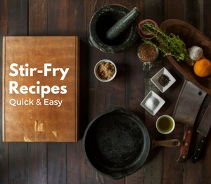 stir-fry recipes cover