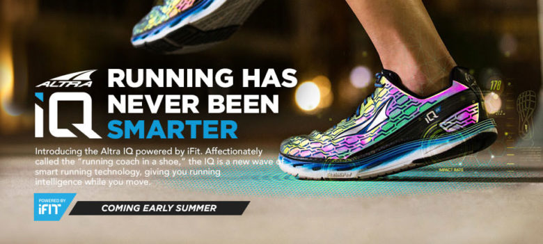 Altra Running IQ Powered by Ifit