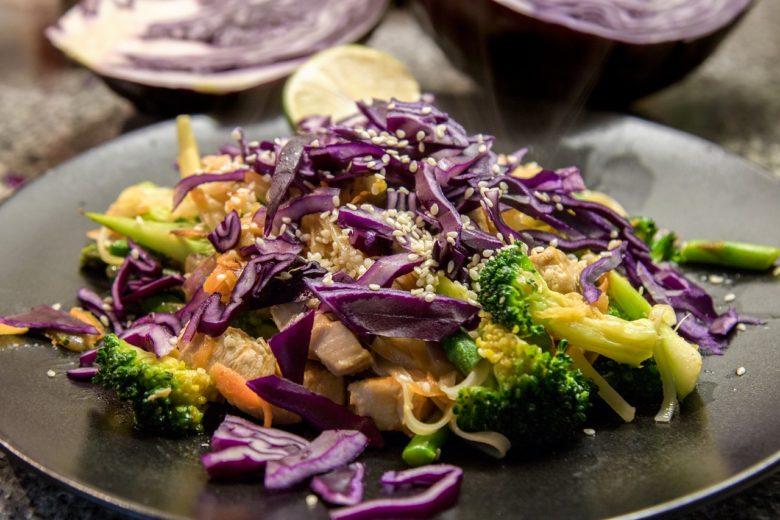 stir-fry meal