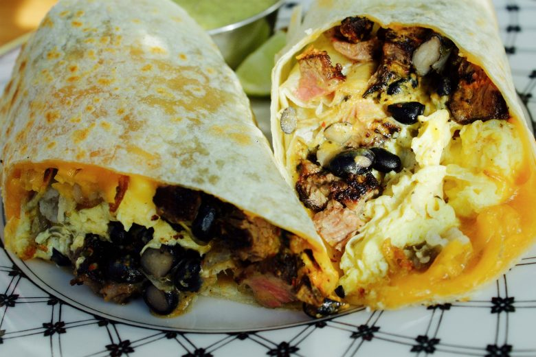 What can be more portable than tortilla wrap?