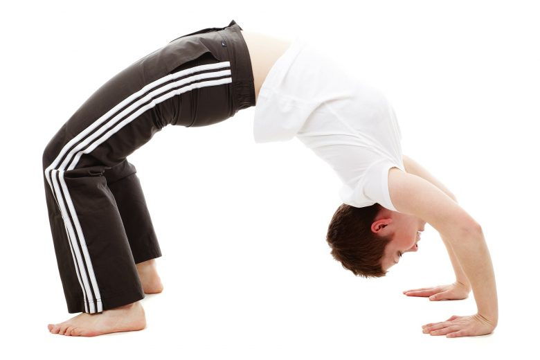 flexible man