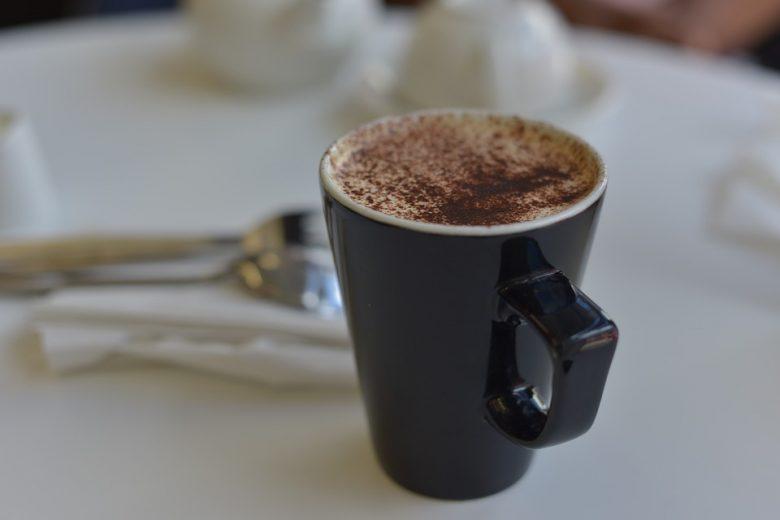 Chocolate caliente con coco