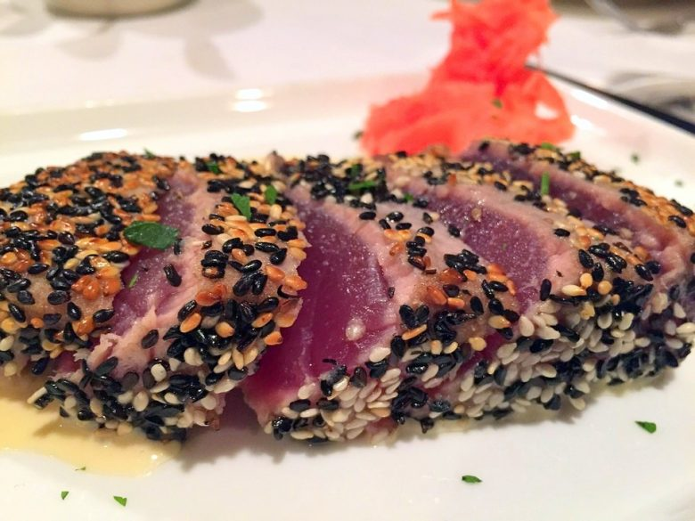 Sesame-Spiced Tuna