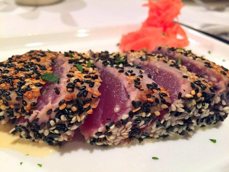 Sesame-Spiced Tuna