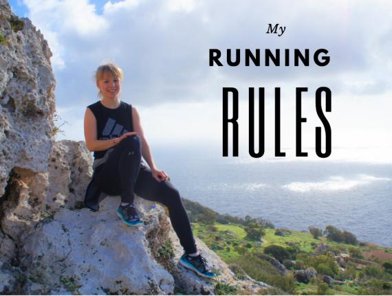 My running rules Run Agness Run