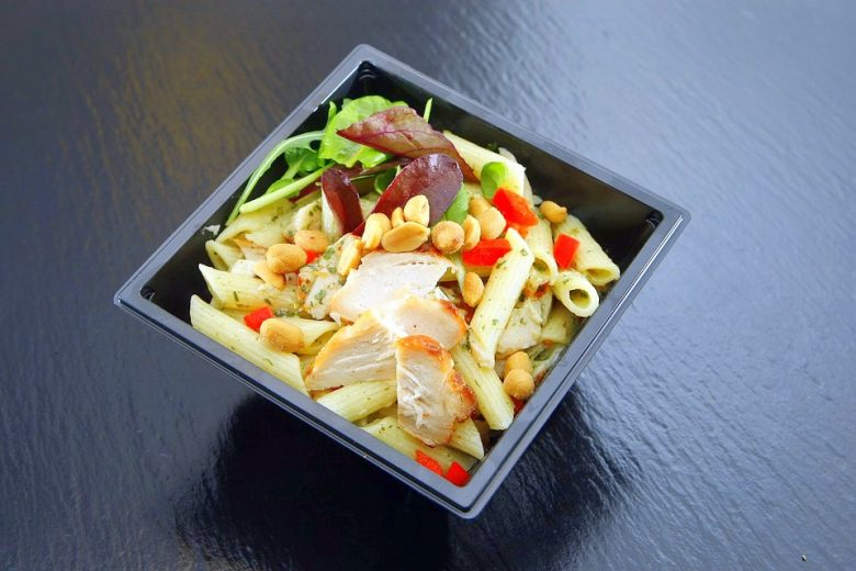 Chicken peanut noodle is an ideal meal after running session
