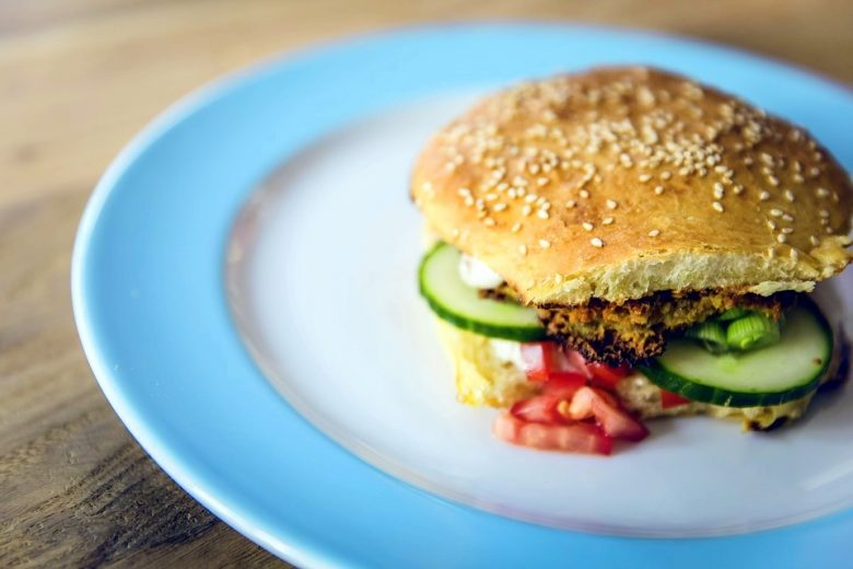 Salmon burger will definitely help you in boosting your running capabilities