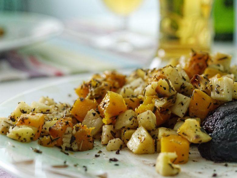 Croquetas de patata dulce