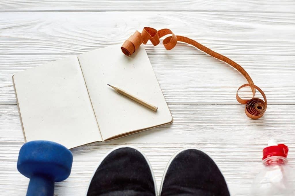 Workout Notebook Goals