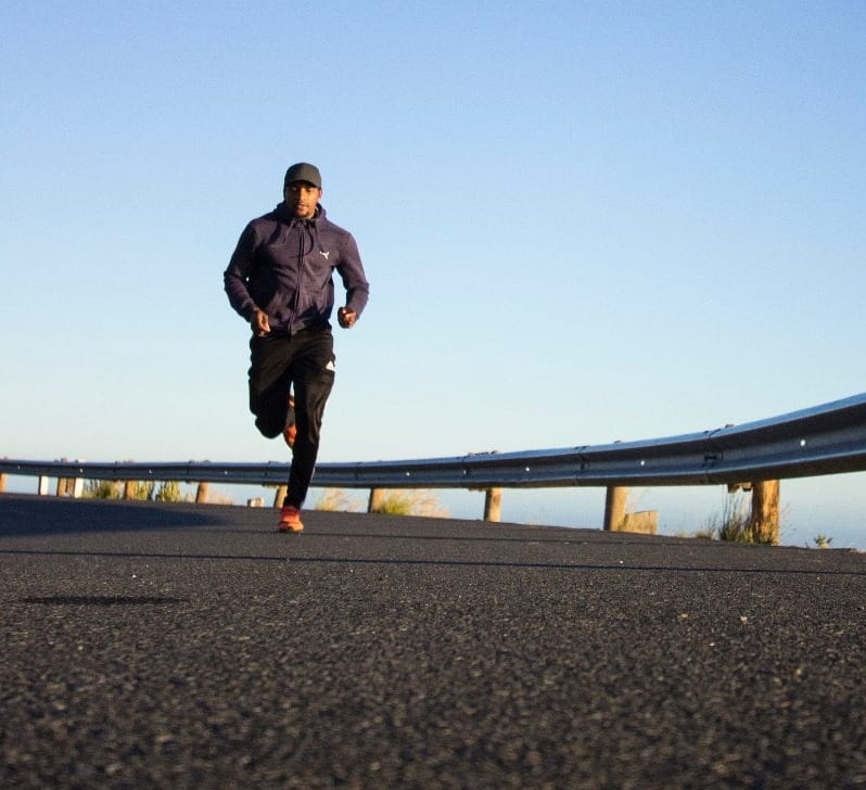 Running Man On The Street 1