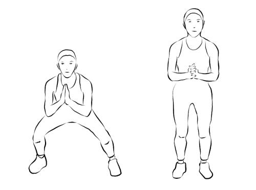 Side Step Squat