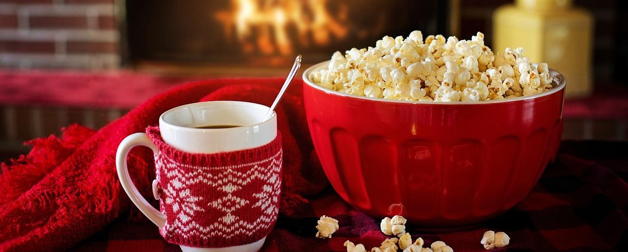 Christmas Food Popcorn