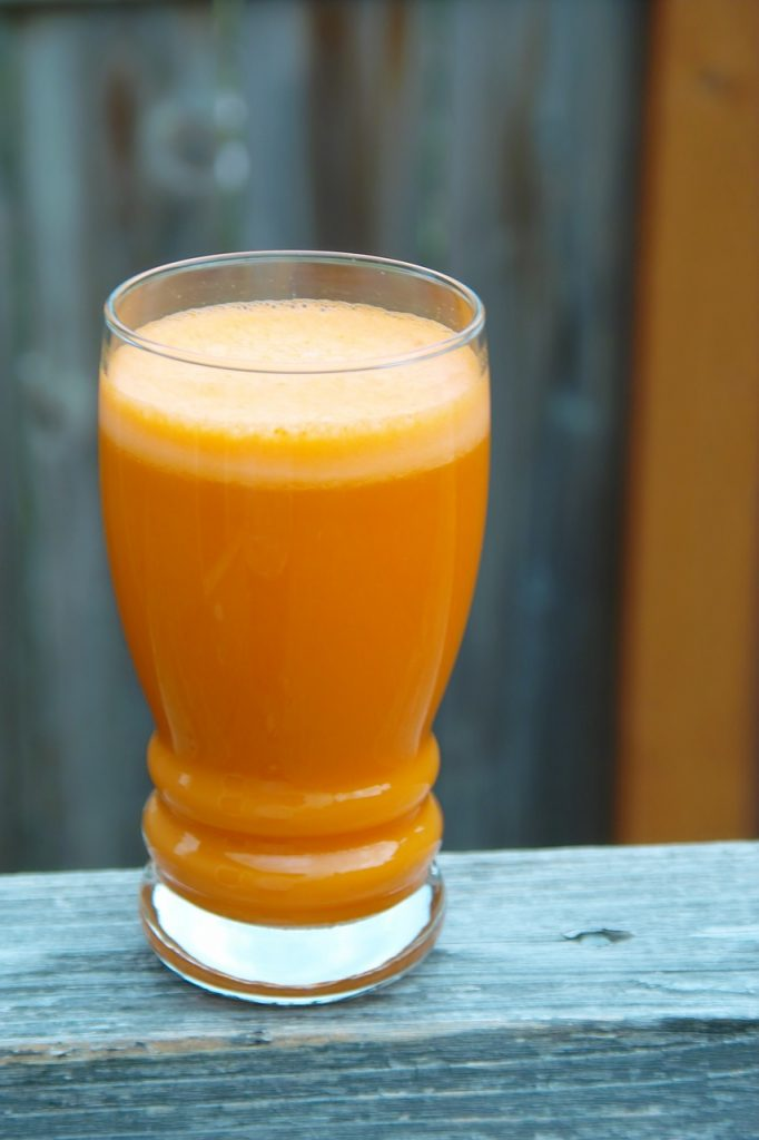 Orange Smoothie 2