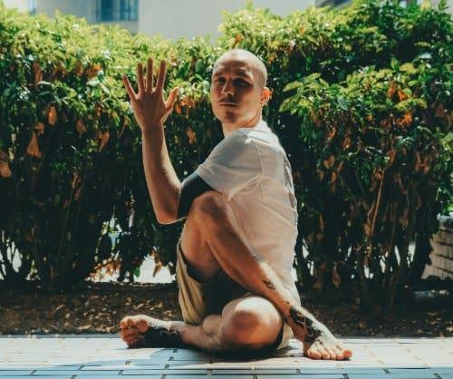 Full Body Twist Stretch 1