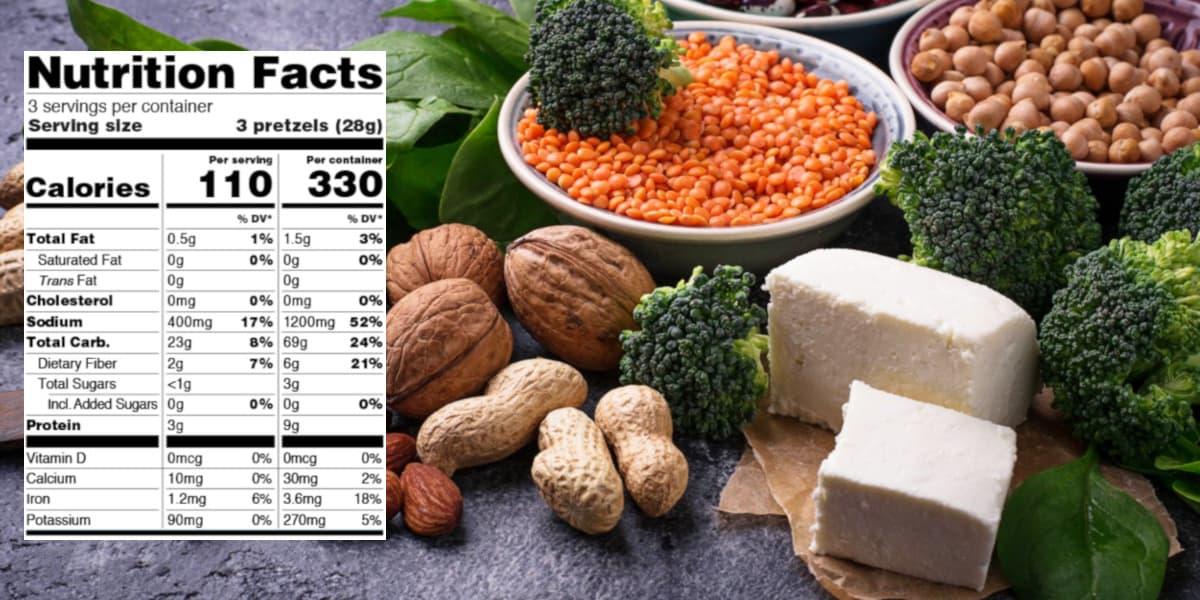 vegran protein calculator