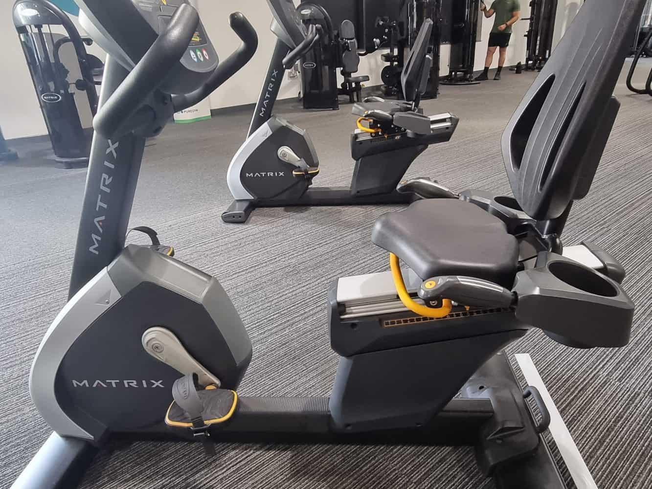 recumbent exercise bikes background